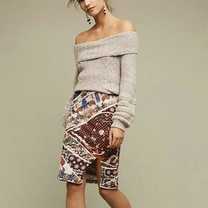 ‼️NWT Anthropologie Asian Crane Skirt Small‼️